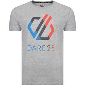 Dare 2b Galvanize Camiseta Hombre, ash grey marl